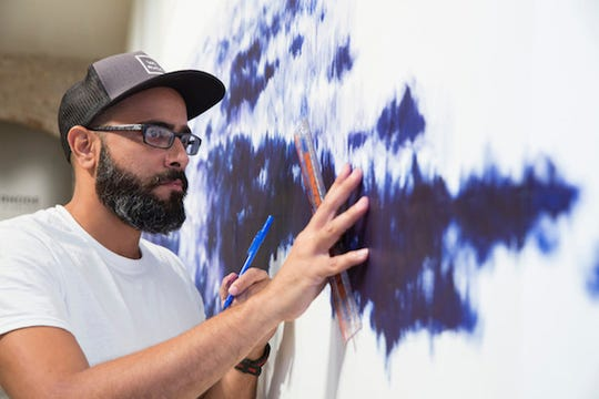 """SCAD Savannah – Spring 2016 – Exhibitions – Gamaliel Rodriguez – """"Reminiscent of Time Passed"""" – Installation – SCAD Museum of Art – Photography by John McKinnon"""