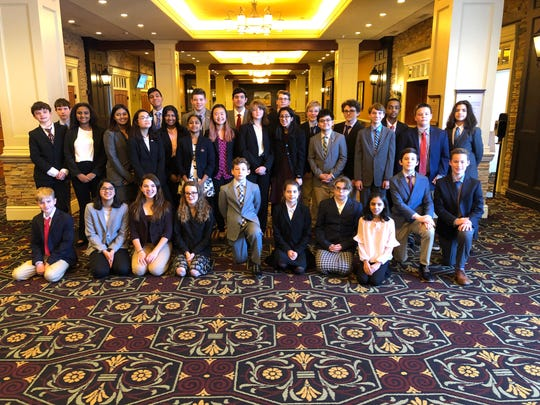 Local Middle School students excel at YMCA Model UN2 conference.