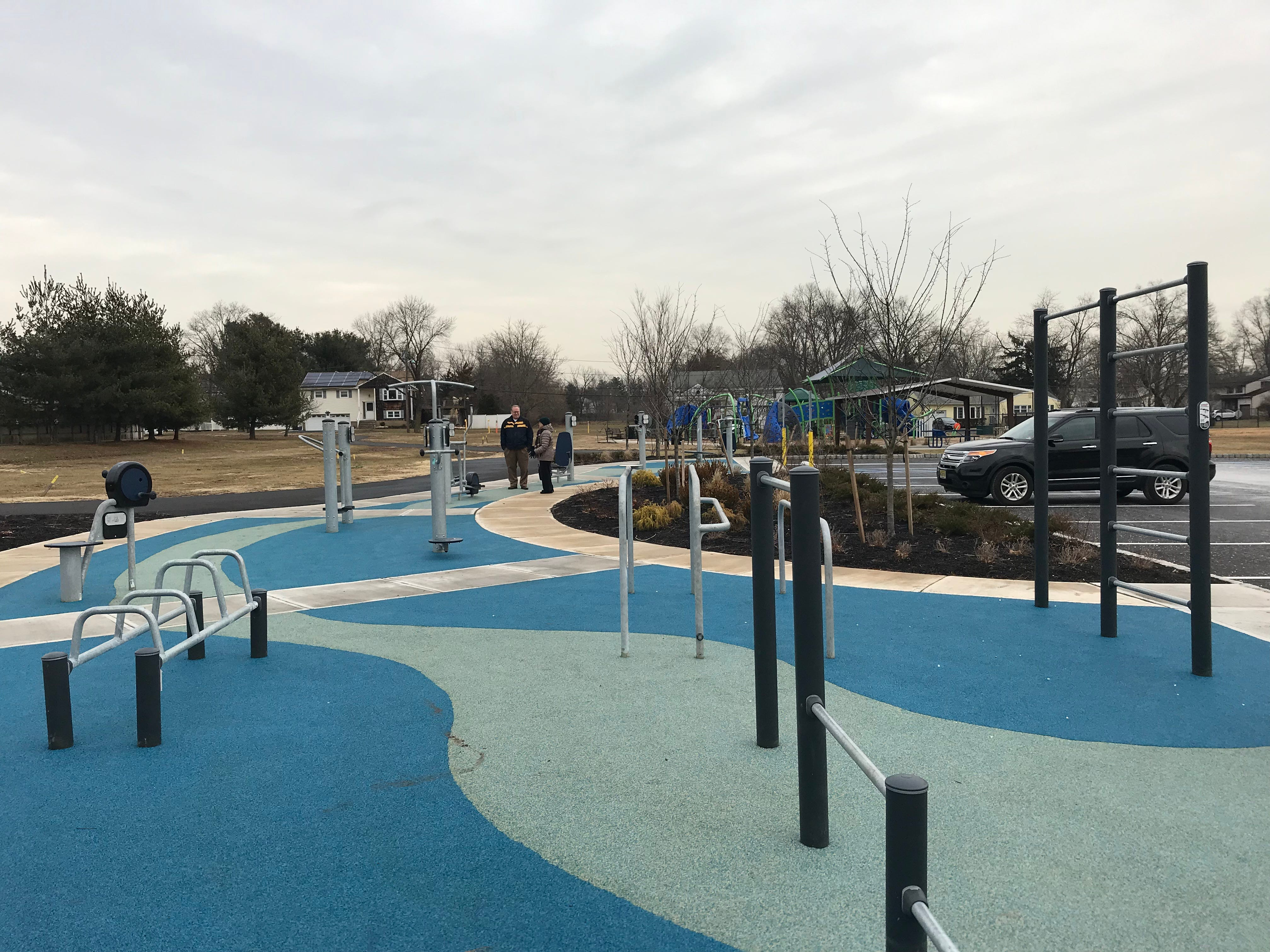 Recent improvements to Perrine Park include an outdoor weather-proof fitness center, a walking path and a playground featuring downloadable game. Much of the improvements were funded with revenue generated from redevelopment projects.