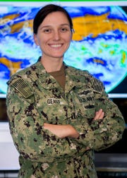 South River native Lt. Stephanie Geant serves at Joint Typhoon Warning Center.
