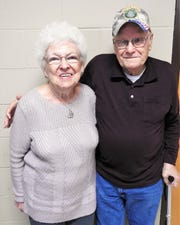 Doris and Terry Casey of Keene are 91 and 93, respectively. They say laughing off the small stuff in life is key to their 50-year marriage.