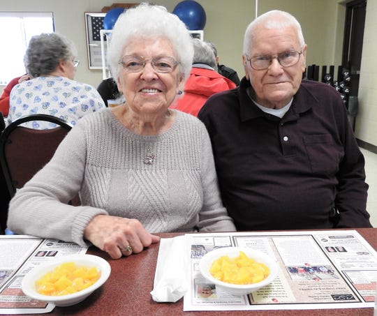 Doris and Terry Casey of Keene have been married 50 years, tying the knot on April 12, 1968. They attribute their long lives and marriage to staying active and doing things together.