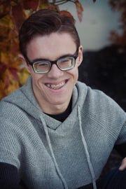 Clay Warner, a senior at North Polk High School