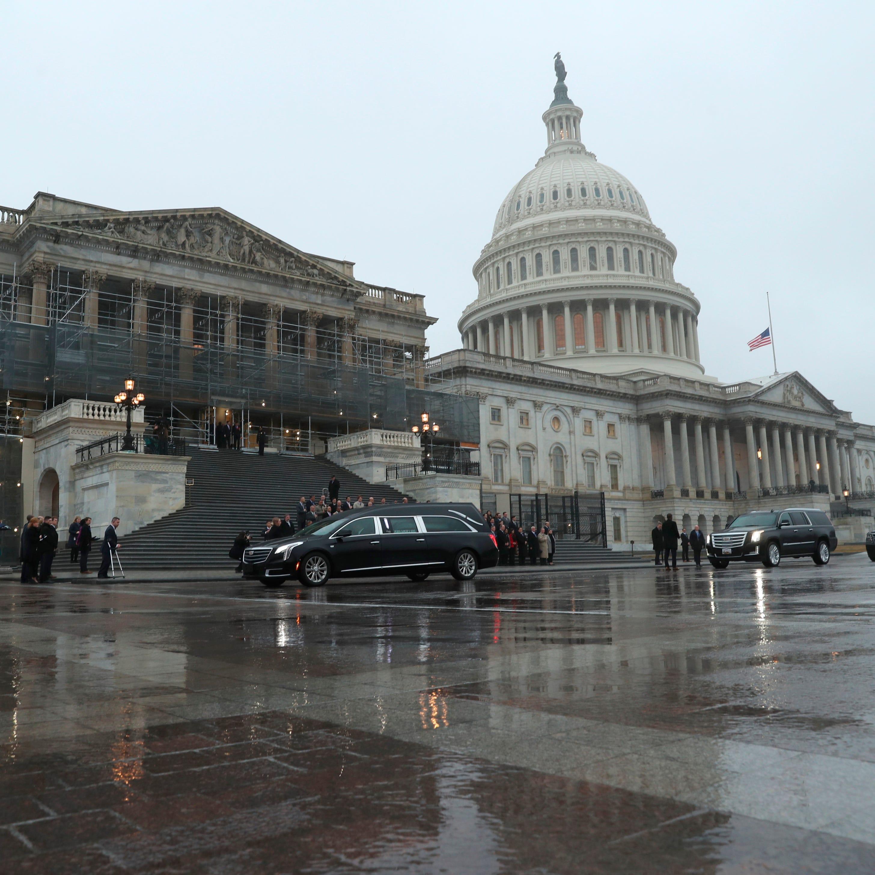 Former Congressman John Dingell returns to US Capitol for last time