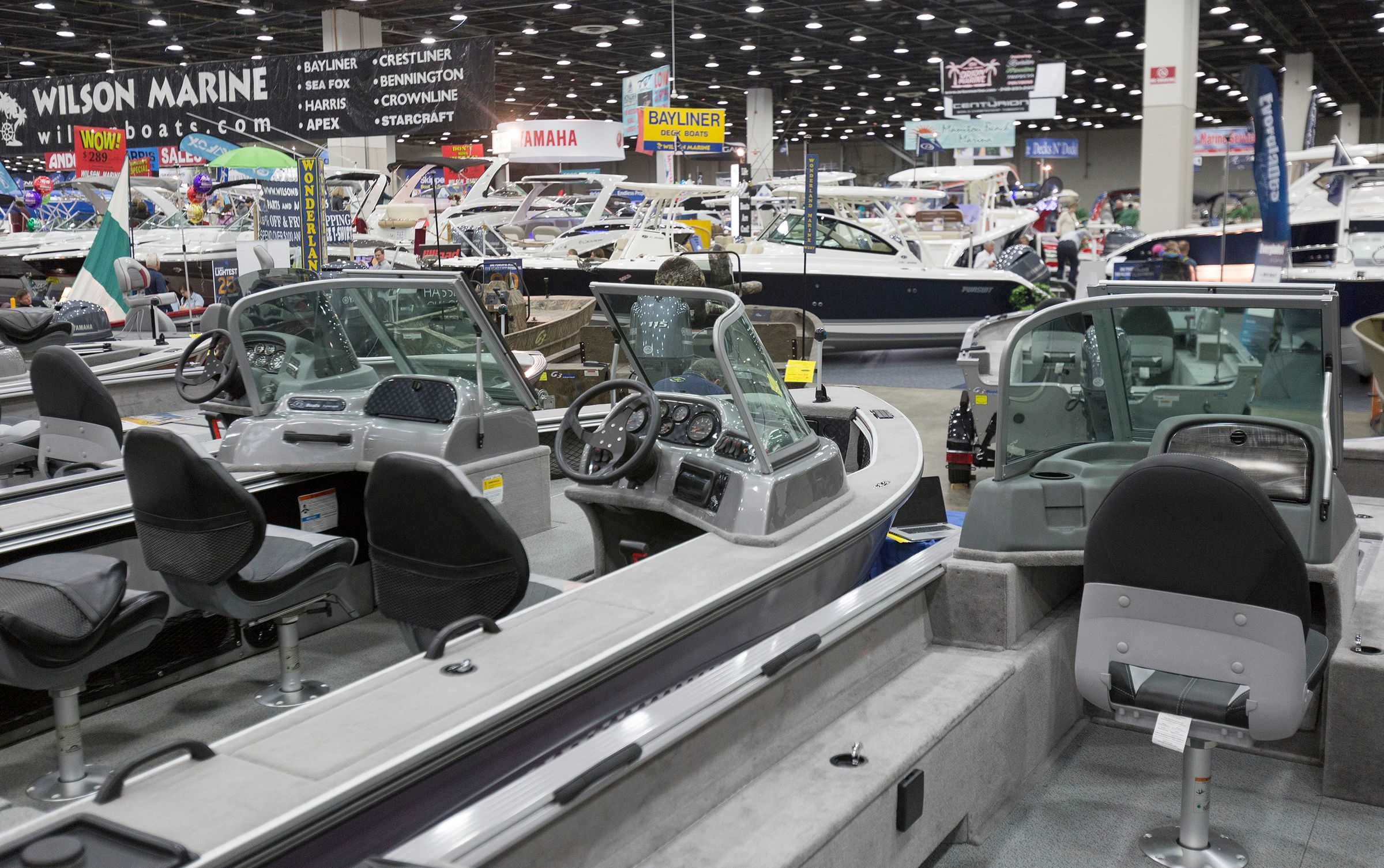 The 61st edition of the Detroit Boat Show opens Saturday at Cobo Center.