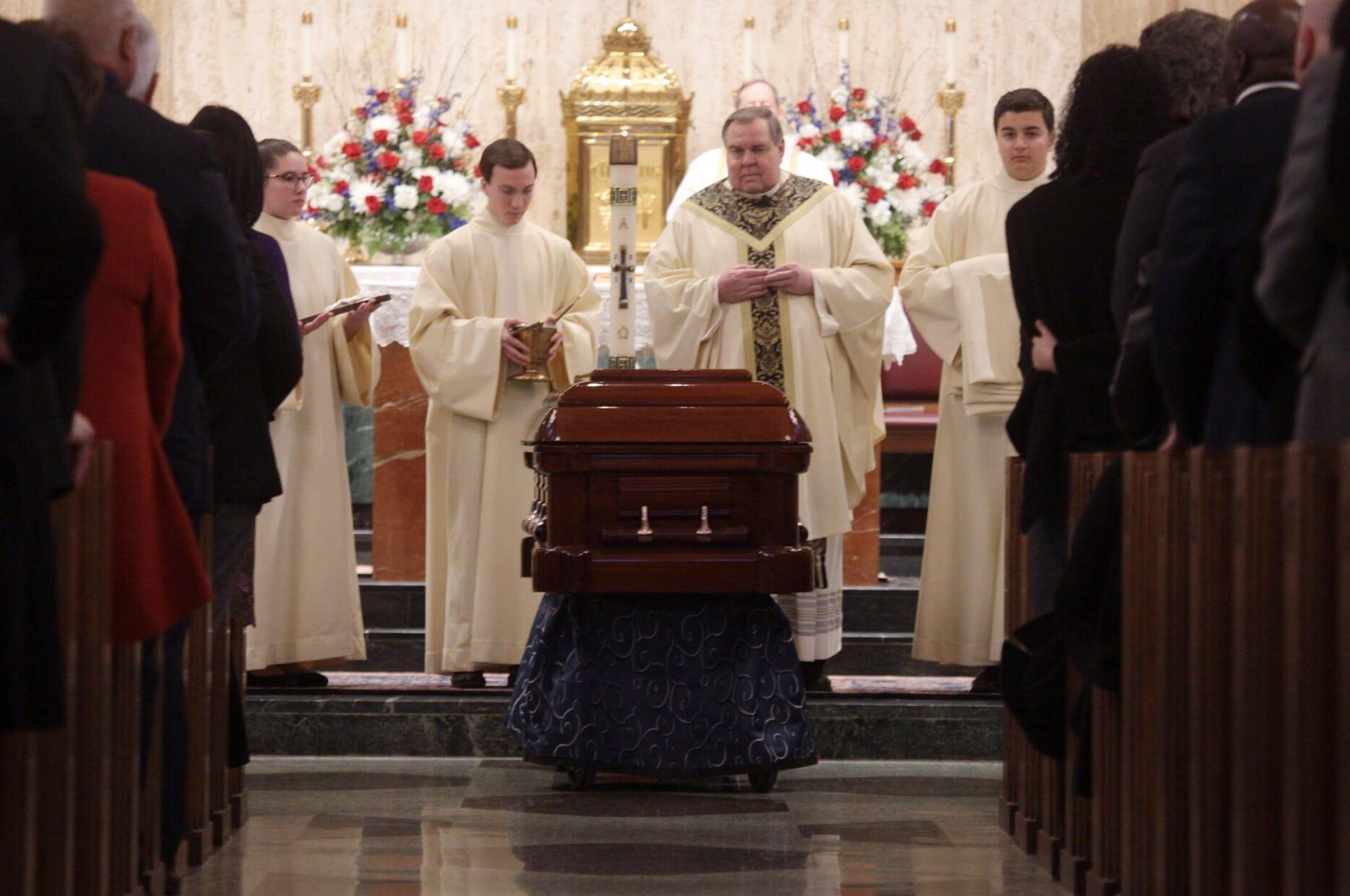 Recap: John Dingell funeral services in Dearborn