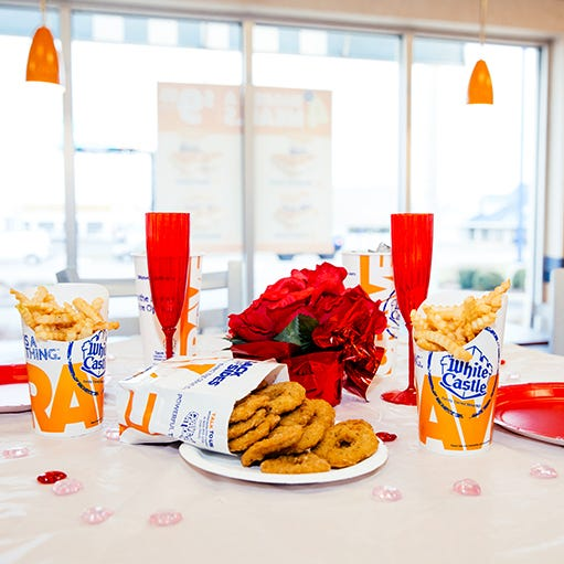 Romance is on again at White Castle for Valentine's Day