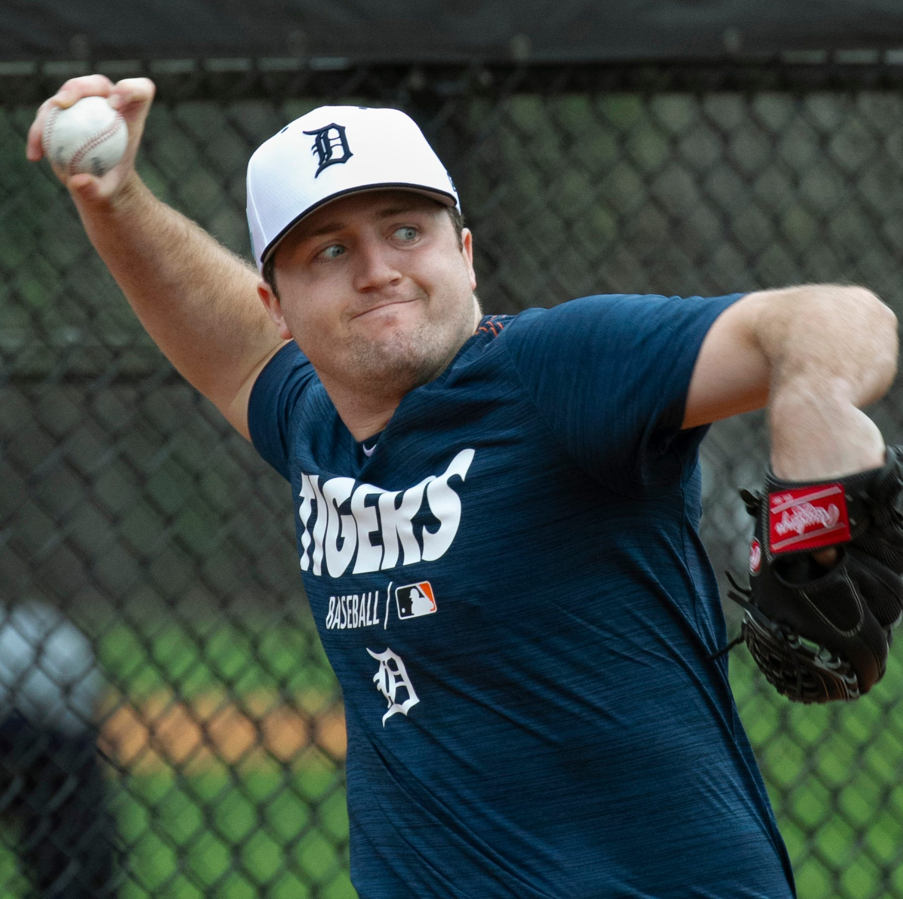 On a busy optional work day, Tigers' Casey Mize impresses with new-age ideas and an old-school ethic
