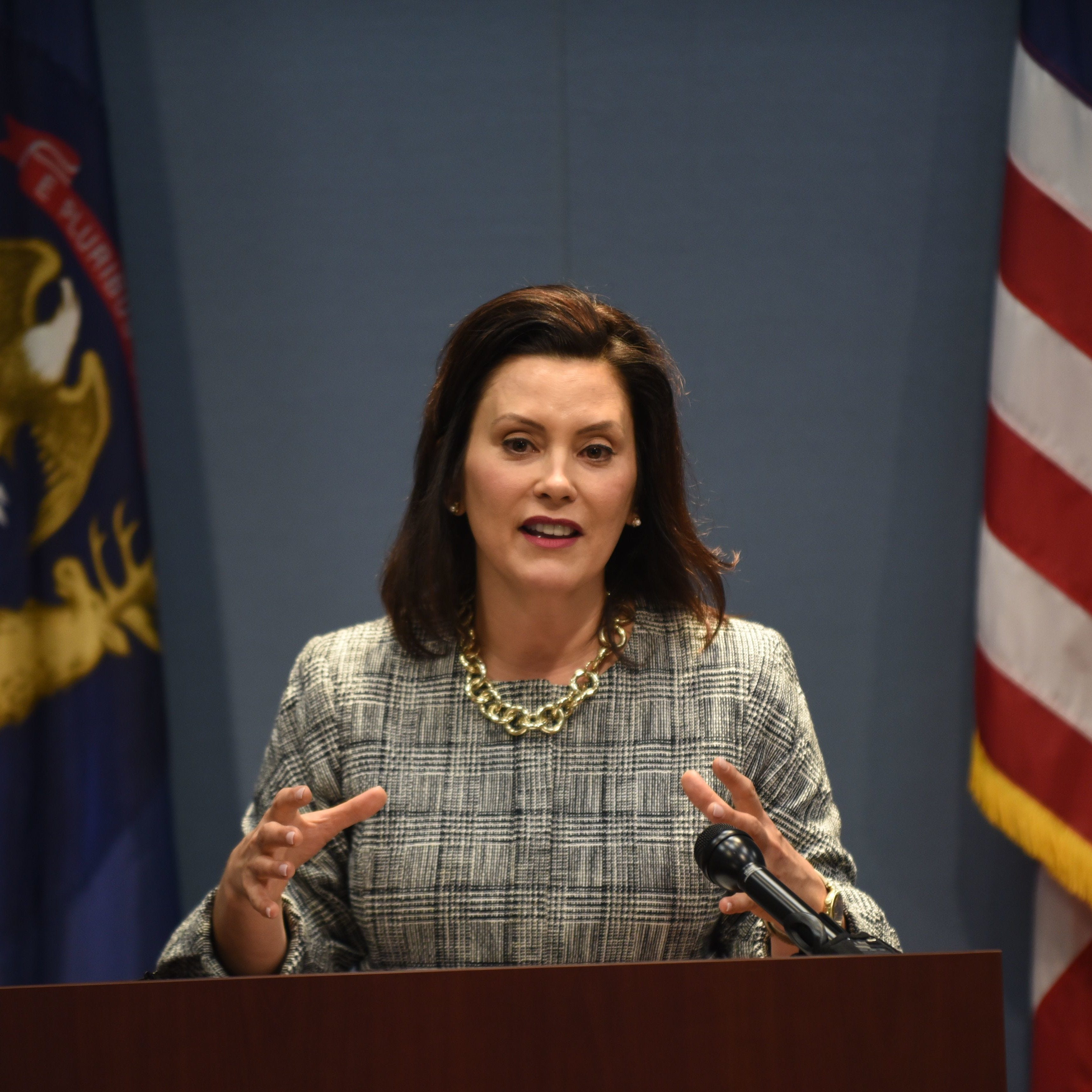 Whitmer: 'Michigan values' led to blocked sale of shuttered prison