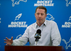 """The night before the Lions traded for defensive tackle Damon """"Snacks"""" Harrison, Lions GM Bob Quinn went to bed panicked the Giants would reconsider their offer."""