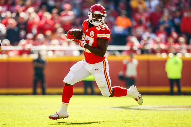 """We evaluate every player on the field and off the field, and in this case, we talked about it internally and it was just a player we didn't feel comfortable with the Lions for numerous issues,"" said Lions GM Bob Quinn on running back Kareem Hunt, who was signed by the Browns."