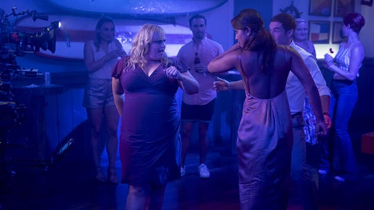 "Rebel Wilson and Priyanka Chopra in ""Isn't It Romantic."""
