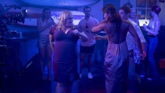 "Rebel Wilson and Priyanka Chopra in ""Isn't It Romantic."""