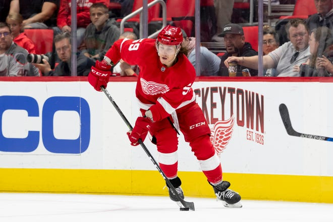 Red Wings forward Tyler Bertuzzi                has been out since Jan. 22 because of concussion-like symptoms.