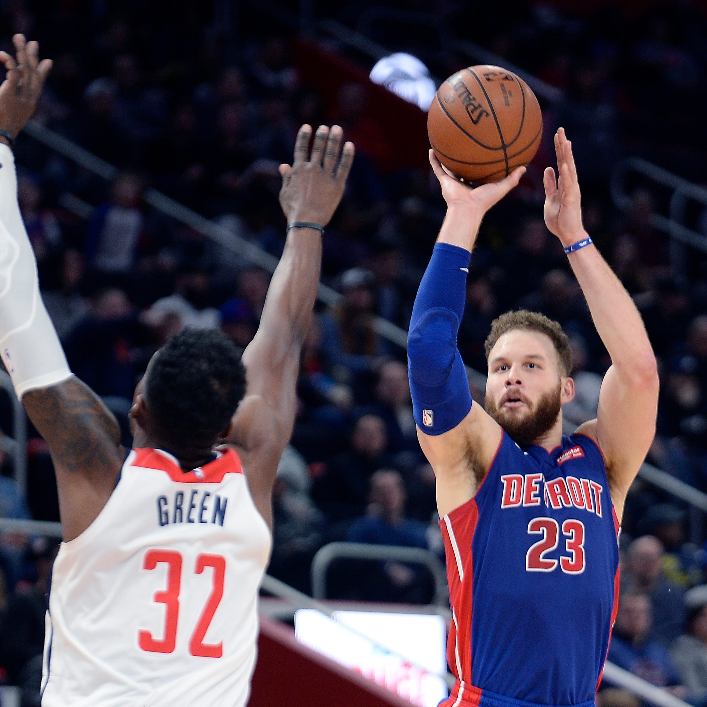 Pistons 'clicking,'  hammer Wizards to win fourth straight