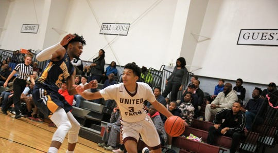United Faith Christian Academy guard Marcus Henderson is averaging 8.8 points, 2.3 rebounds and 2.6 assists per game, according to MaxPreps.