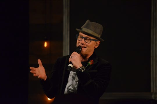 TobyMac tells a story during a previous Toledo concert.