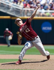 Florida State junior pitcher Drew Parrish looks to lead the Seminoles back to Omaha.