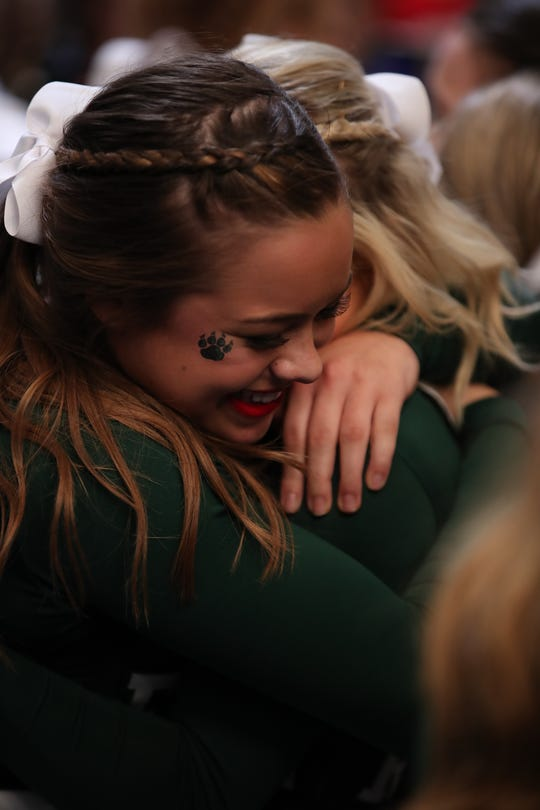 The Fossil Ridge High School cheerleading team won its first national title last weekend in Orlando.