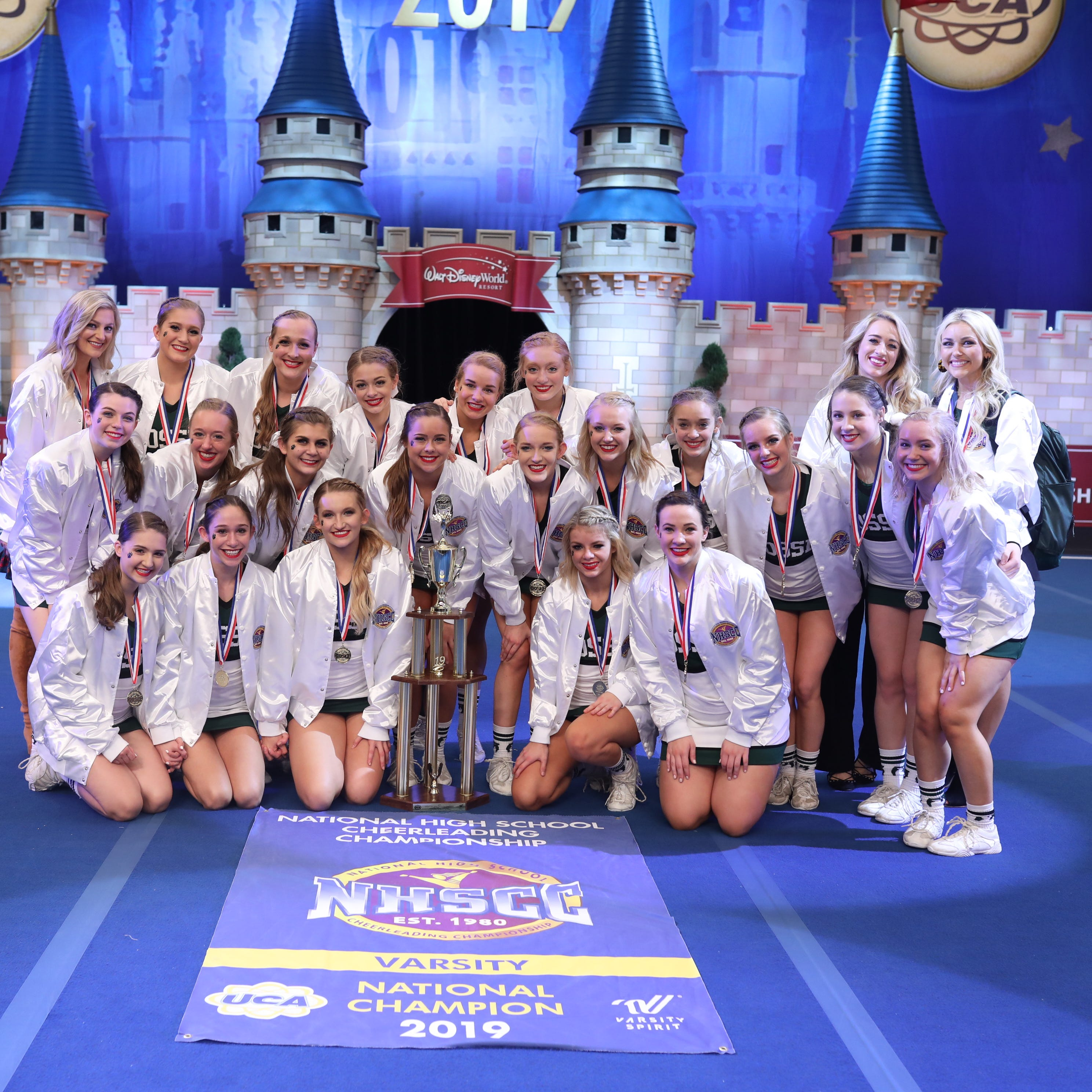 Fossil Ridge cheer wins first national championship