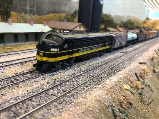There are more than 200 miniature locomotives and about 1,200 feet of mainline track set up at Scale Rails of Southwest Florida's headquarters.