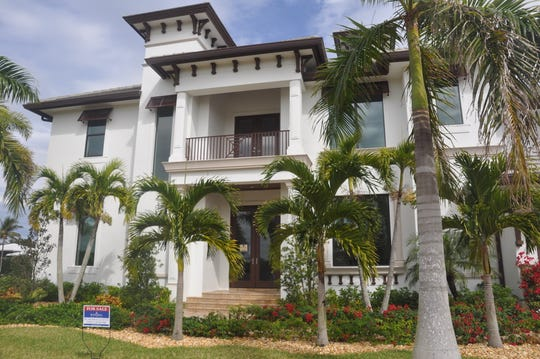 This waterfront home in Fort Myers is in a gated enclave called Bay Harbour Estates that will have only four houses.