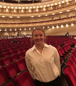 Halle Nygaard of Fort Myers got to perform at Carnegie Hall with other Southwest Florida teens on Sunday. Nygaard, 15, is a home-schooled sophomore who sings with the worship team in Gateway church Relevance Community.