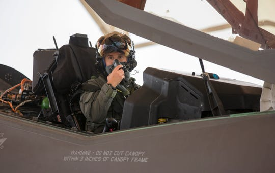 U.S. Air Force Major Rachael Winiecki