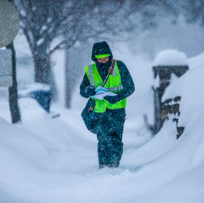 More than 15 inches of snow fell in Wausau Tuesday, breaking an over 110-year-old record