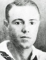 Navy Fire Controlman First Class Edward J. Shelden, 29, was among 429 killed whenJapanese aircraft andtorpedoes capsized theUSS Oklahoma on Dec. 7, 1941.