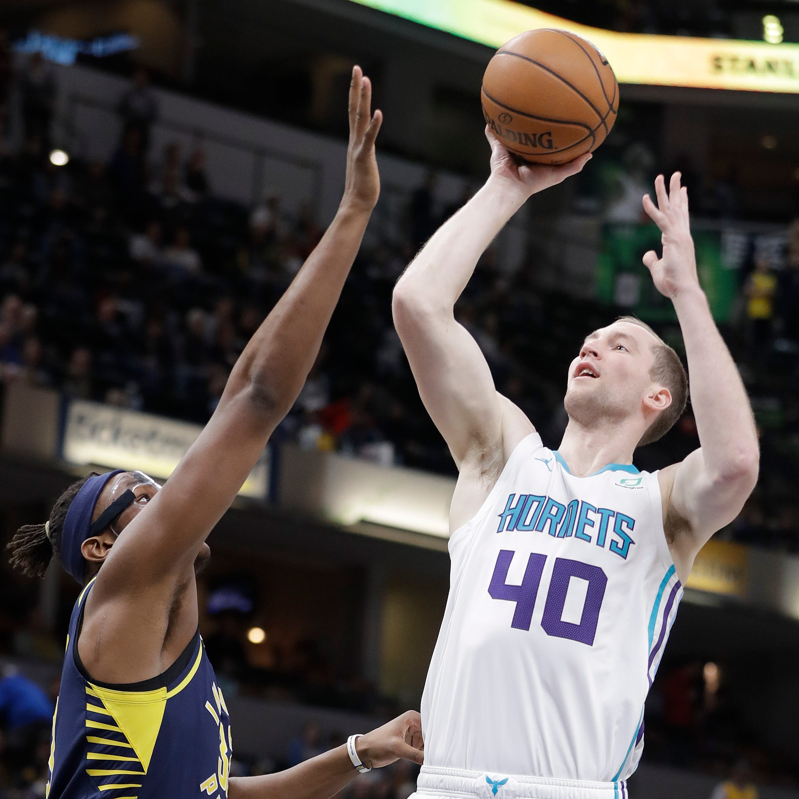 Cody Zeller returns to Washington, Indiana, and he's got jokes!