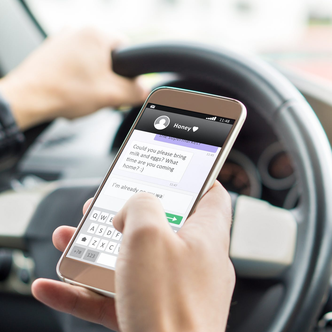 New Florida law means you can now get pulled over for texting while driving