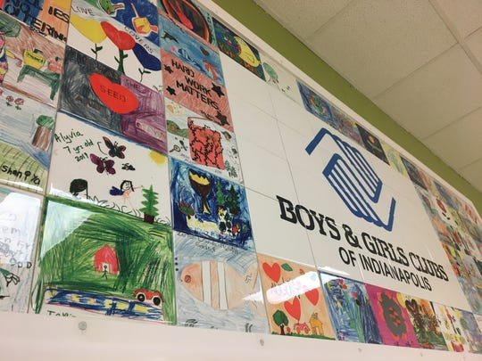 The centerpiece of the renovation was a tile mosaic donated by Art to Remember featuring more than 60 pieces of original art by Wheeler-Dowe students and staff.
