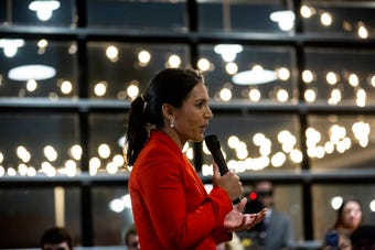 Hear remarks from Hawaii Rep. Tulsi Gabbard from an event on her first trip to Iowa since announcing her bid for president, Feb. 11, 2019.