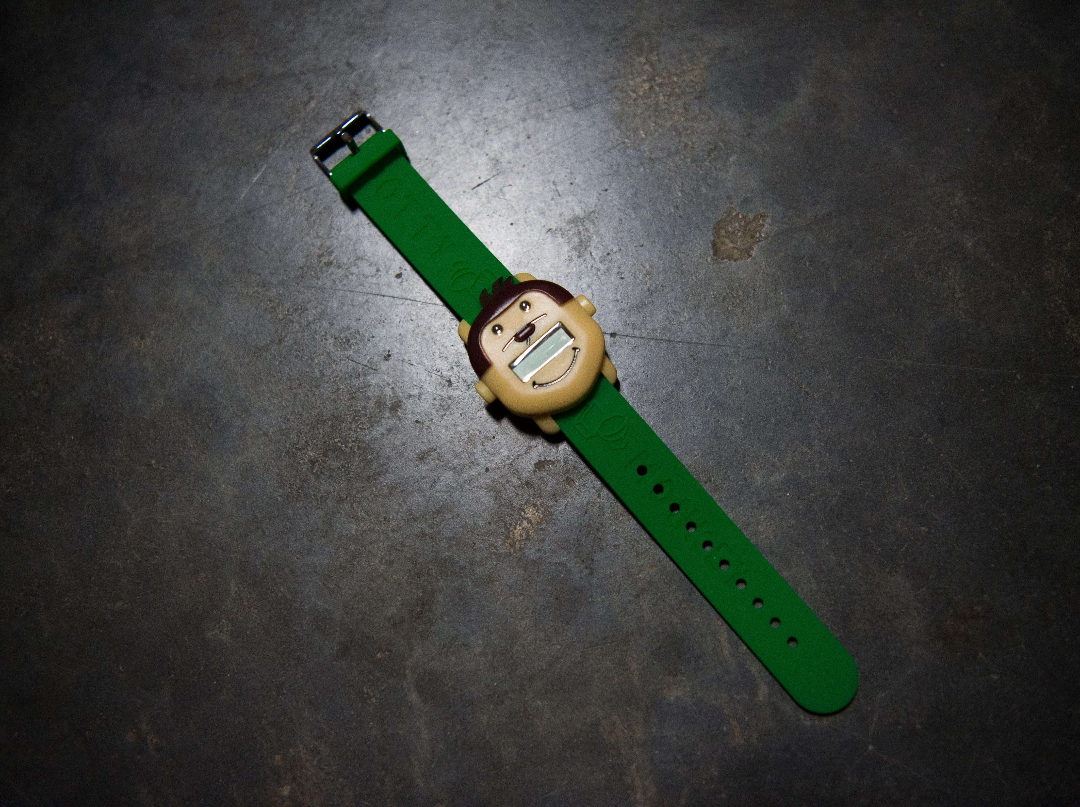 A photo of the Potty Monkey Watch at PottyMD in West Knoxville Tuesday, Feb. 12, 2019. The local company manufactures watches to help potty train children and other members of the population.
