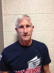 Former Tri-County track coach Dick Kochert.