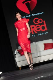 Local ladies model the latest fashions at the AHA's Go Red for Women Luncheon on Feb. 7