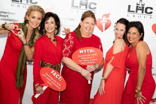 The American Heart Association's annual Go Red for Women luncheon was held on Feb.7 at the Cajundome Convention Center in Lafayette.