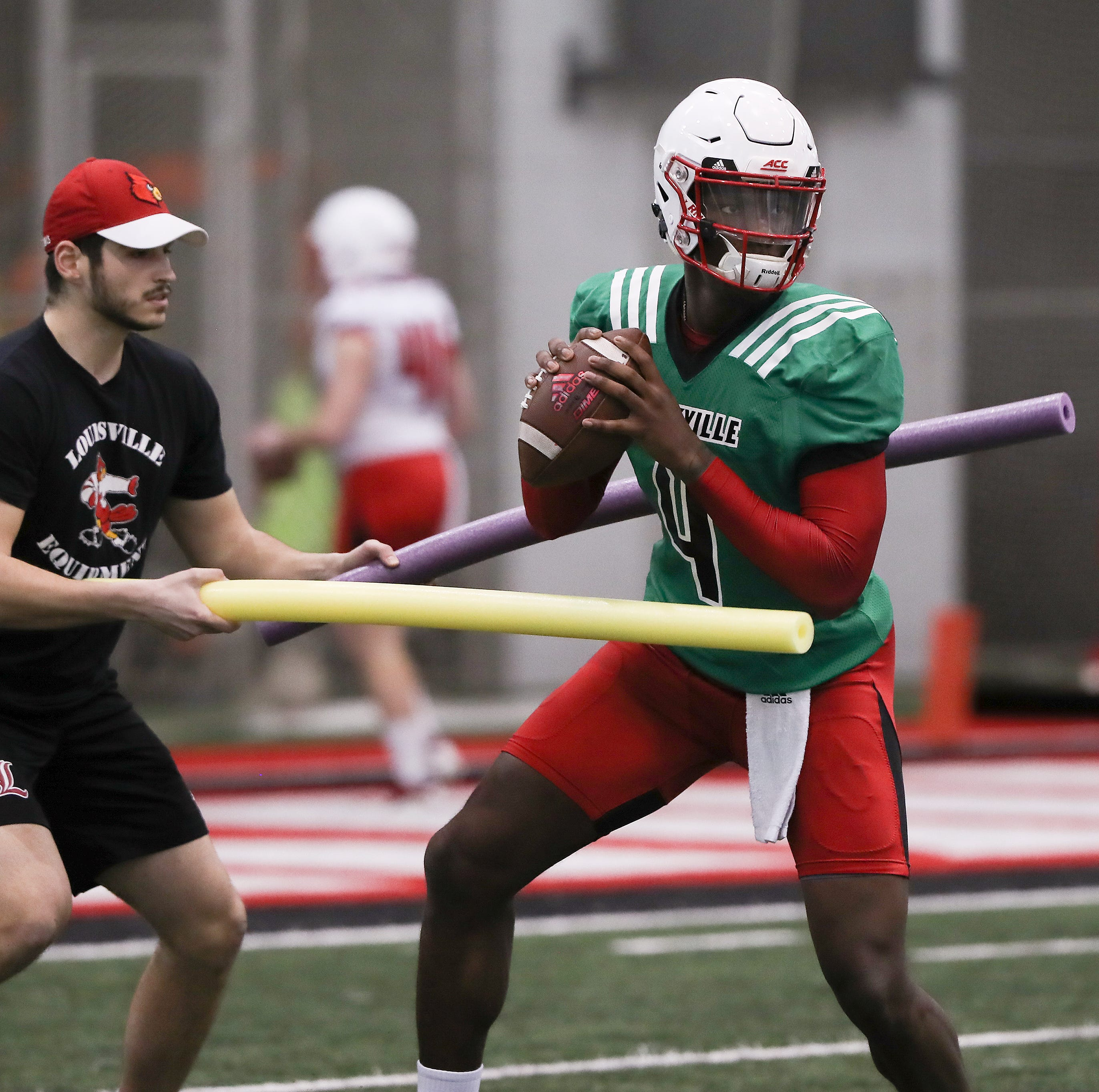 Louisville football's QB competition to be 'wide open' for a while