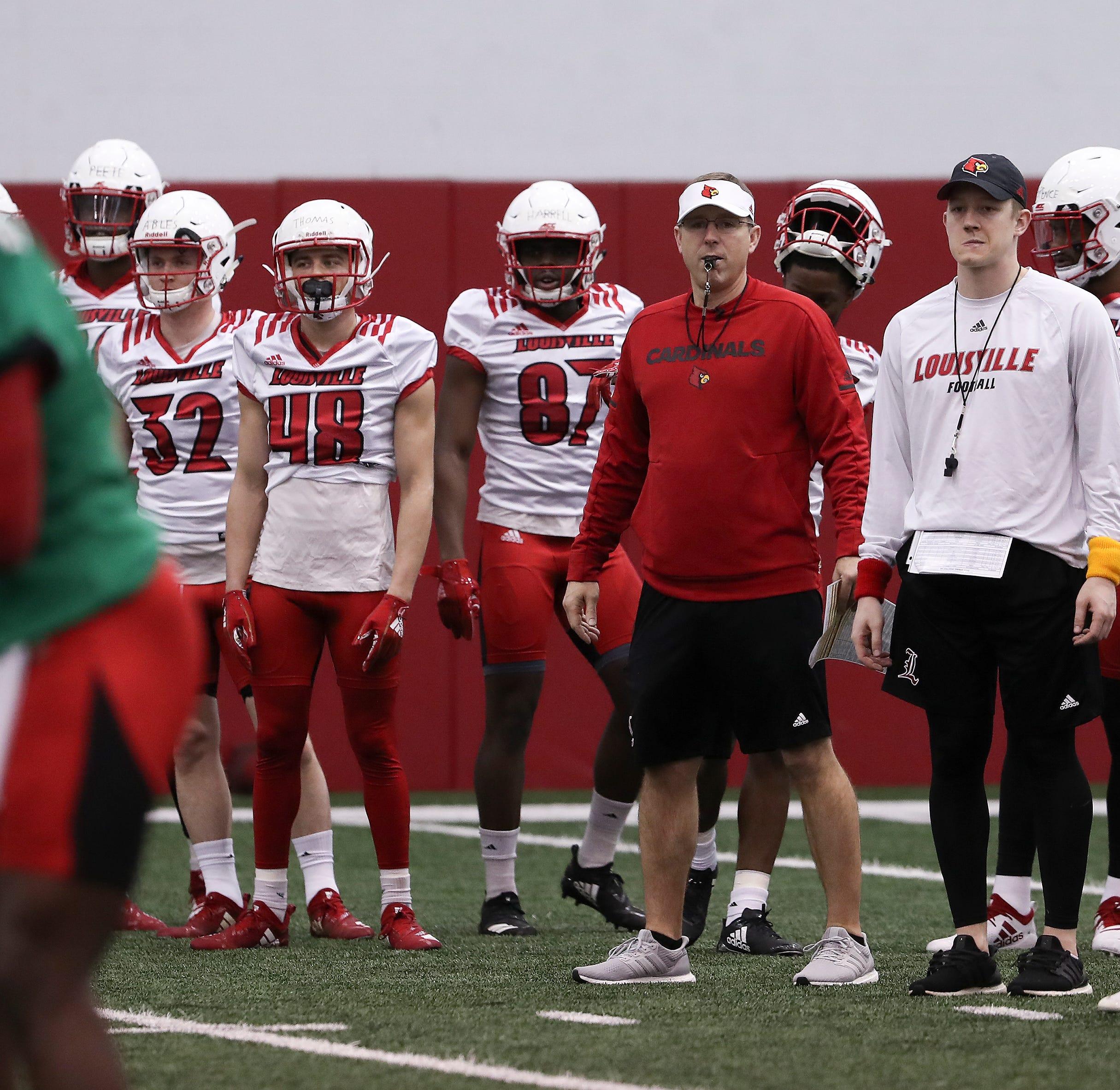 'You guys earned it': Louisville coach Scott Satterfield awards walk-ons scholarships