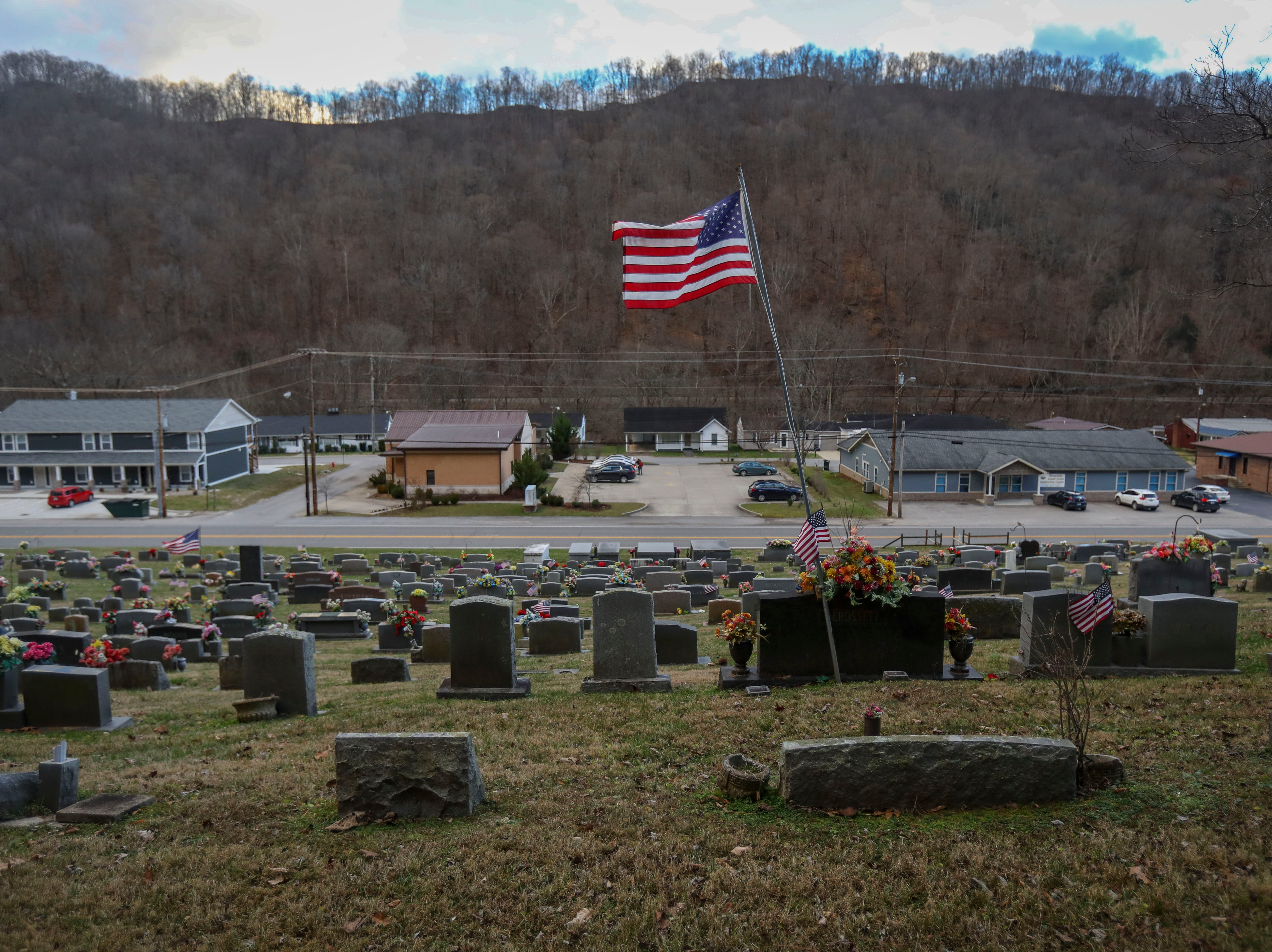 Mayo Cemetery in Prestonsburg, Ky. on Jan. 8, 2019.