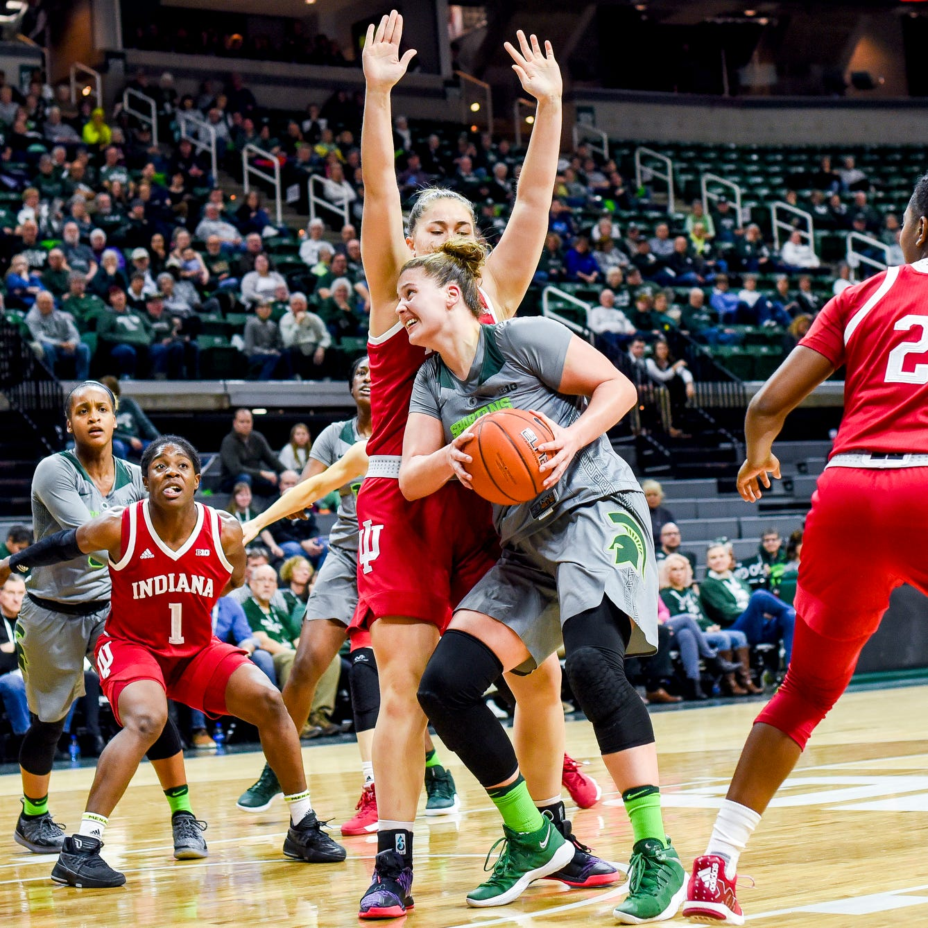 With Jenna Allen on cusp of milestone, MSU women's basketball aims to get her on track