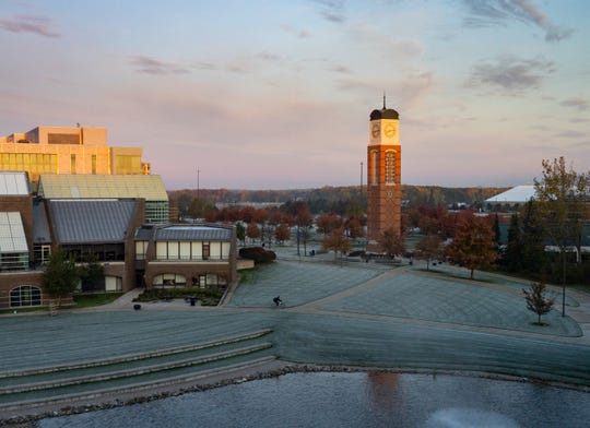 enrollment at Grand Valley State University has grown in the past decade despite declines in the size of high school graduating classes across Michigan.