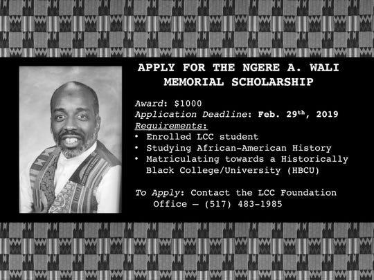 Wali Scholarship