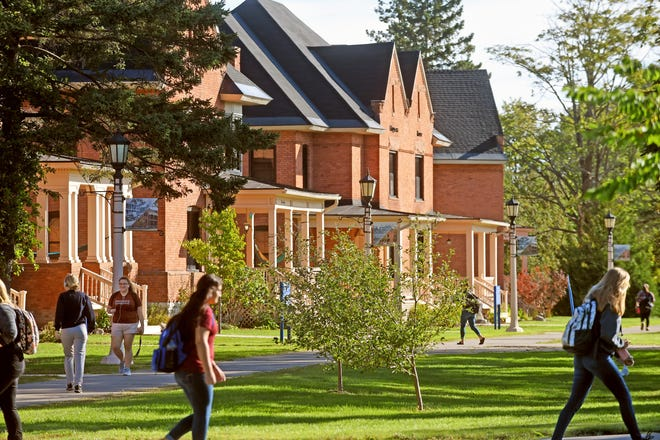 Lake Superior State University, in Sault Ste. Marie, is the smallest of Michigan's public universities, enrolling roughly 2,000 students.