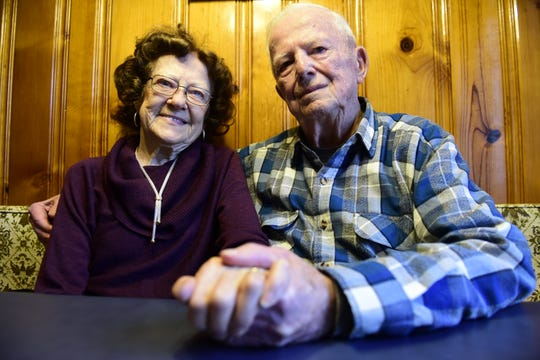 Freda and Linus Bishop will celebrate their 70th wedding anniversary Feb. 26.
