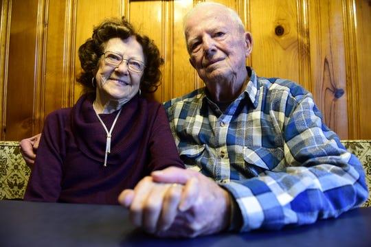 Freda and Linus Bishop will celebrate their 70th wedding anniversary Feb. 26.