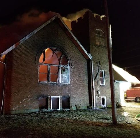 Likens Road church lost to fire, but its memories live on