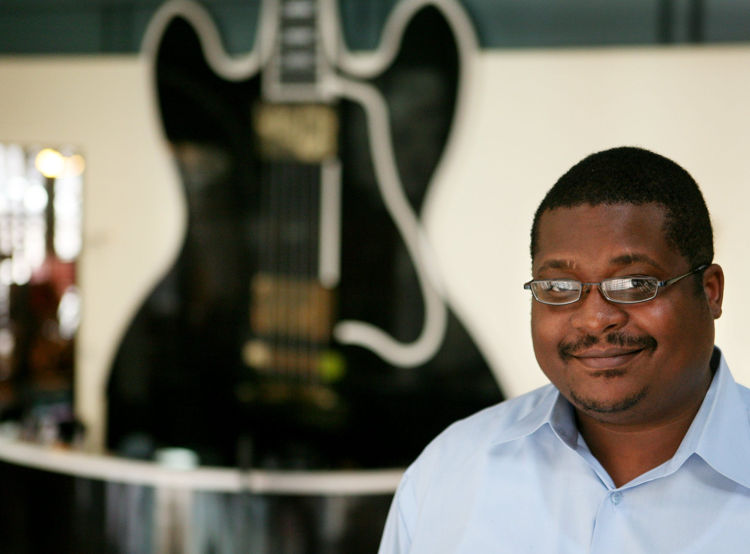 Dec. 20, 06  - Nashid Madyun is general manager of the Gibson Beale Street Showcase and executive director of Discoveries of Gibson, the Rock and Roll Hall of Fame satellite in the Gibson Guitar building.