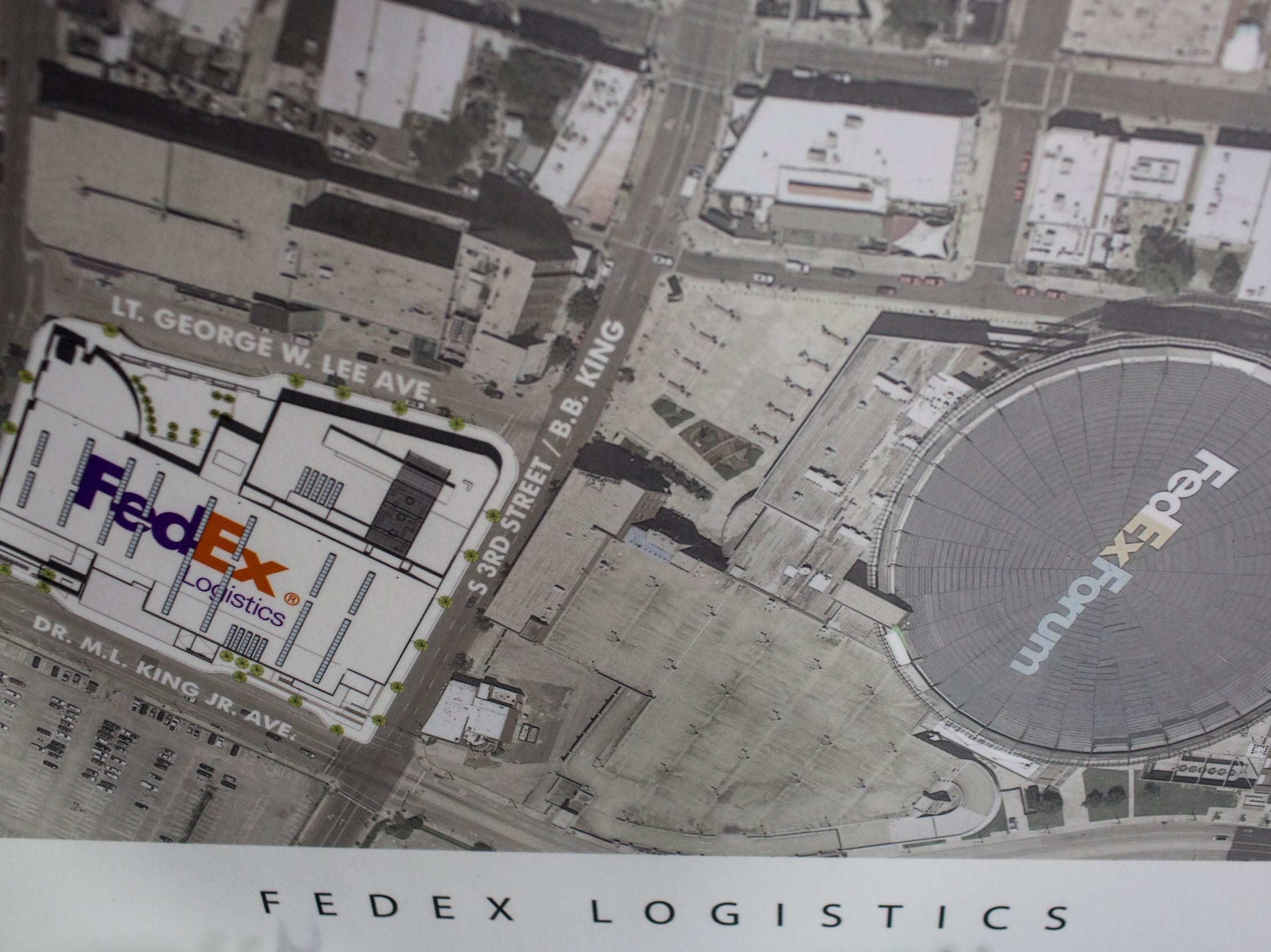 February 12, 2019 - FedEx Logistics is relocating to the Gibson Guitar Building, Gov. Bill Lee and local officials announced Tuesday at the former guitar factory off Beale Street. This is Lee's first economic development announcement since taking office.